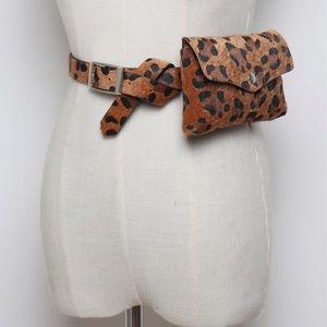 Handbags - 🆕 Leopard print belt bag fanny pack